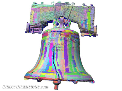 when and how did the liberty bell crack